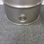 stainless steel barrel with side bung