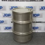 heavy duty stainless steel drum