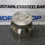 5 gallon stainless steel milk pail