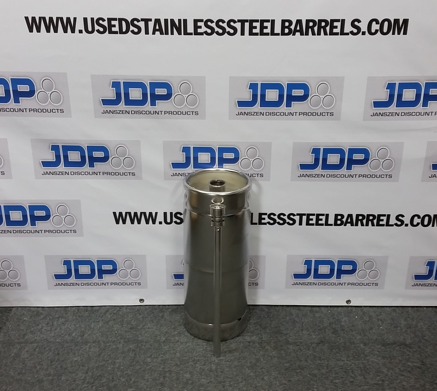 5 23 Gal New Stainless Steel Keg With Spear Stainless