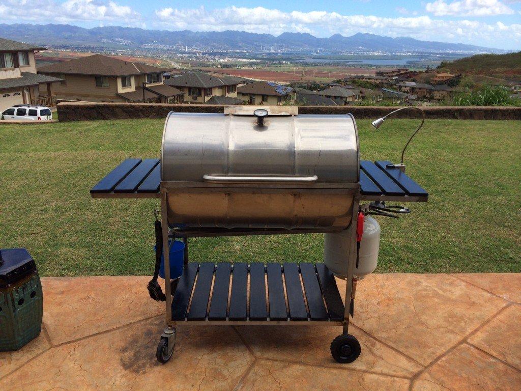 Custom Smoker Grill 1