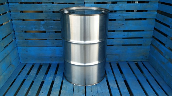 Used stainless steel drum