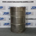 used stainless drum
