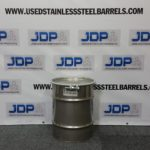 used 10 gallon stainless steel barrel