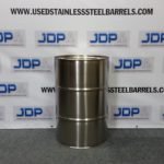 30 gallon used stainless steel drum