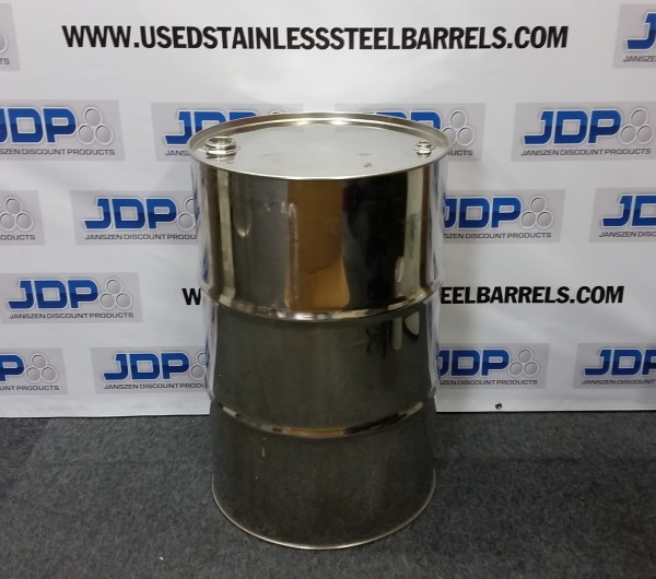 reconditioned stainless steel drum
