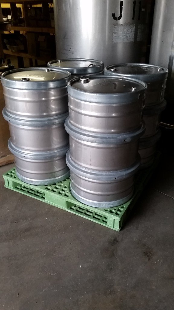 stainless steel used sanitary drums