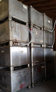 Used Stainless Steel Totes