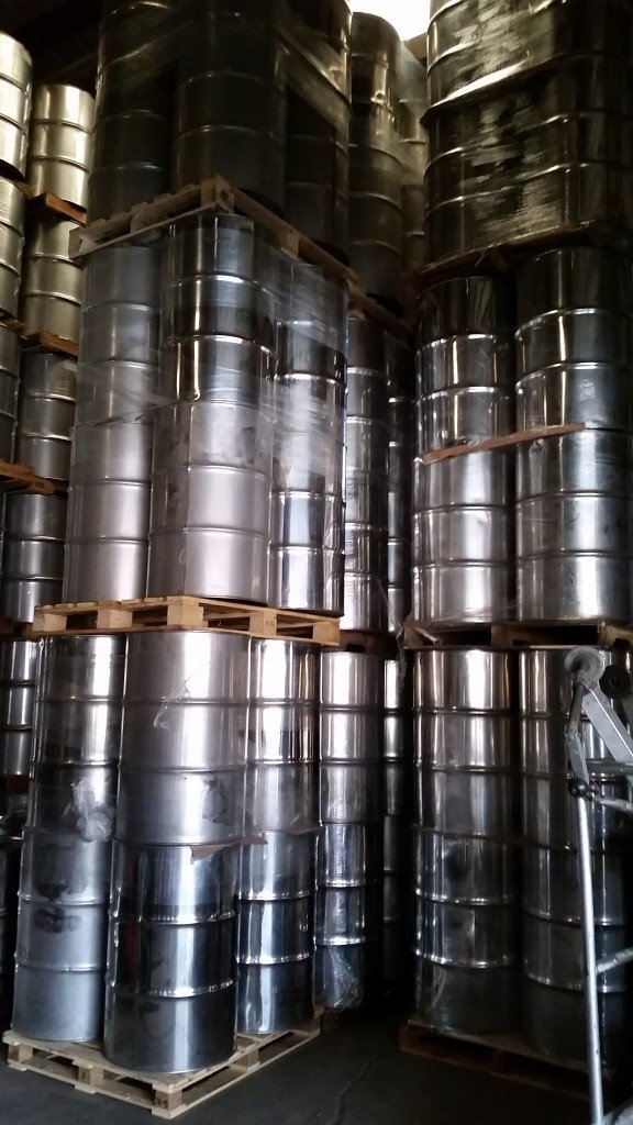 Refurbished Stainless steel drums