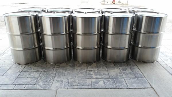 Used Stainless Steel Drums