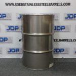 55 gallon stainless steel barrel