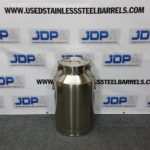 15 gallon stainless steel wine pail