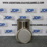 15 gallon stainless steel drum