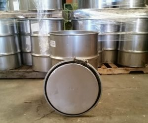 used 30 gallon stainless steel drums